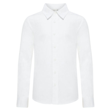 name it Boys Shirt Nitfred helder wit