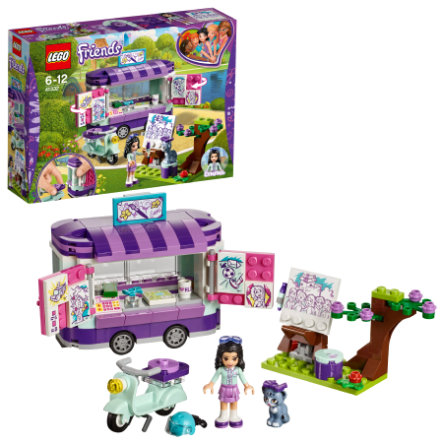 LEGO® Friends - Le stand d'art d'Emma 41332