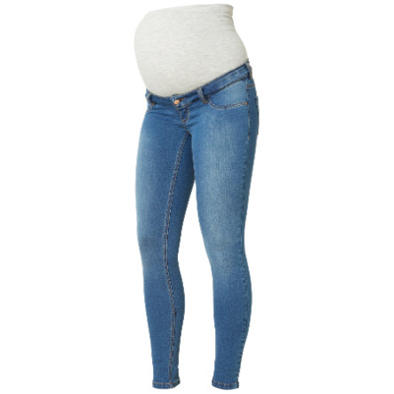 Mama Licious Jeans MLELLA Blue Denim