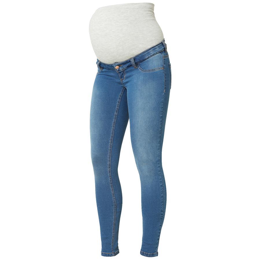 mama licious Jeans de maternité MLELLA Blue Denim