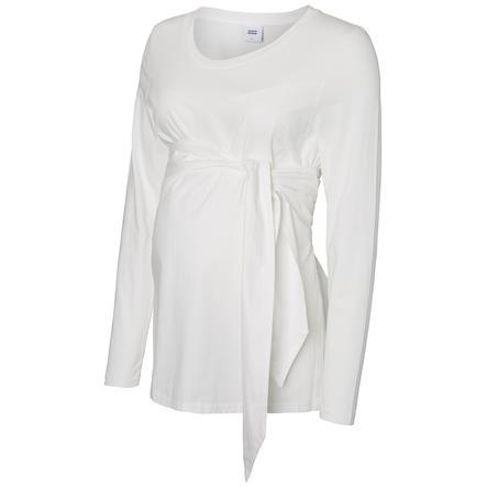 mama licious Långärmad tröja MLCELINE bright white