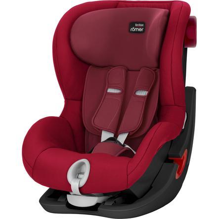 Britax Römer Car Seat King II Black Series Flame Red