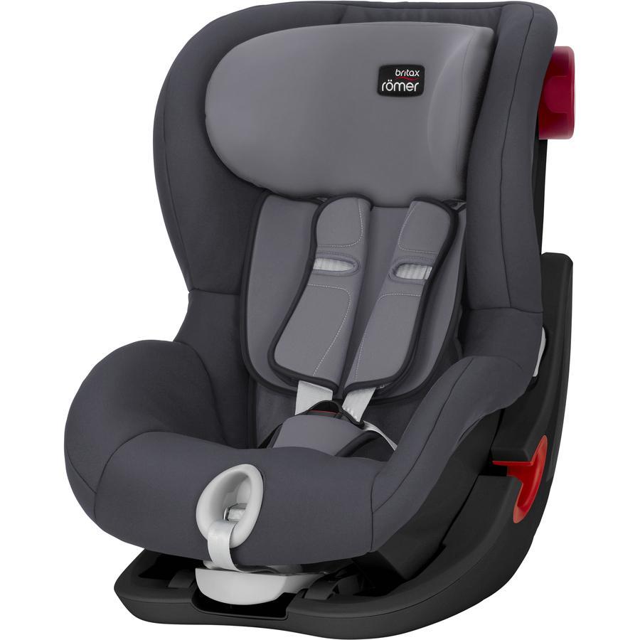 britax r mer car seat king ii black series storm grey