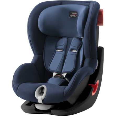 Britax Bilbarnstol King II Black Series Moonlight Blue