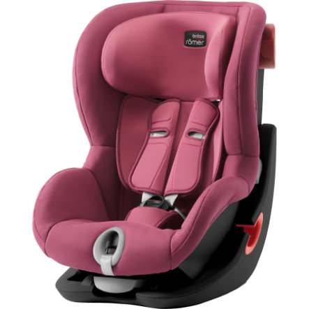 Britax Römer Kindersitz King II Black Series Wine Rose