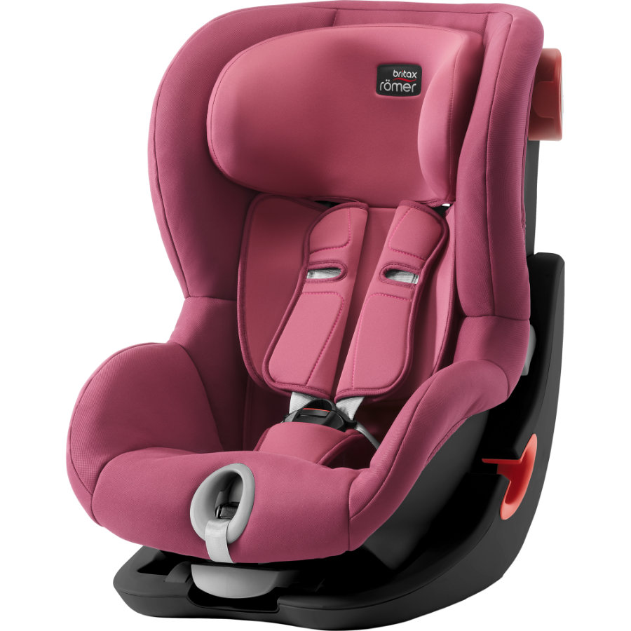 Britax Römer Siège auto King II Black Series Wine Rose