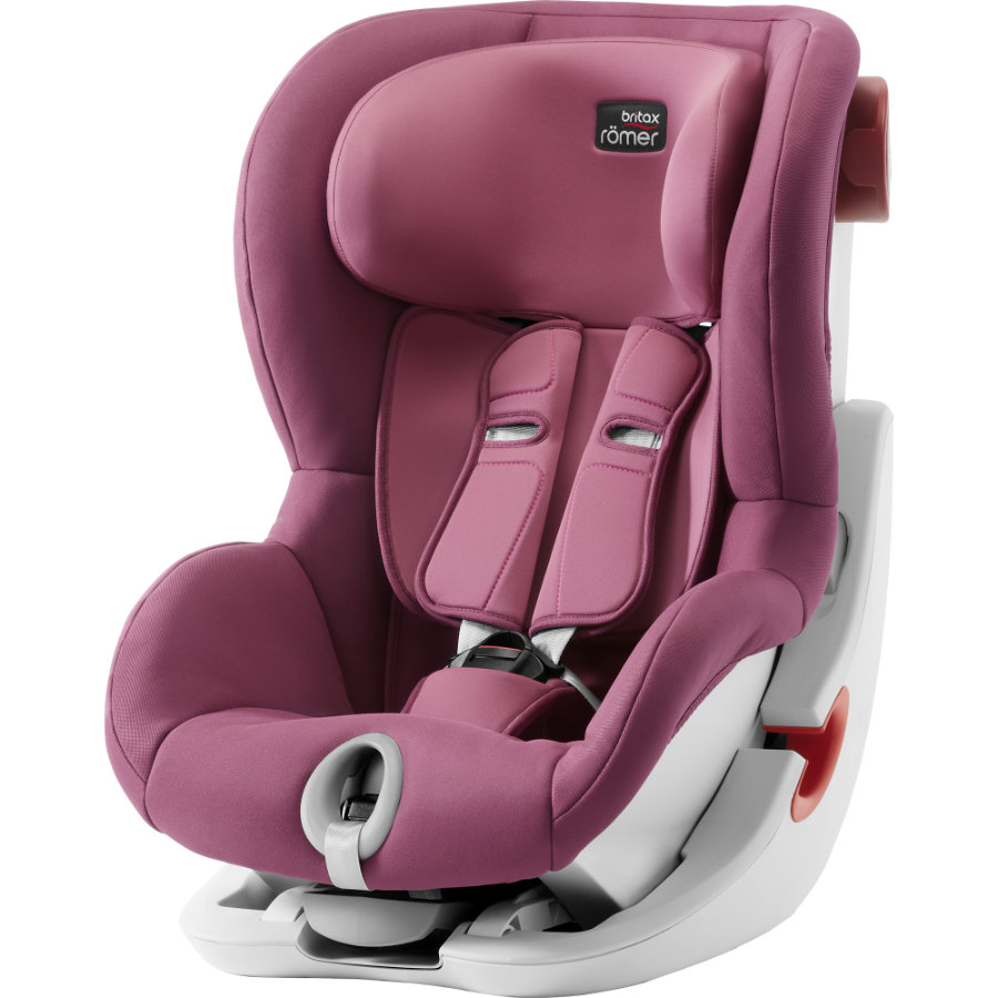 Britax Bilbarnstol King II Wine Rose