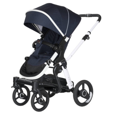Hartan Kinderwagen Sky GTX Night Blue (751) frame wit