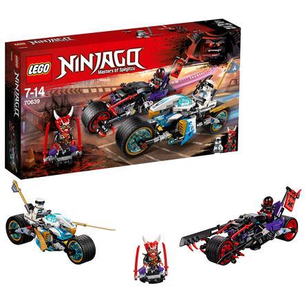 LEGO® NINJAGO - Wyścig uliczny wężowego jaguara 70639