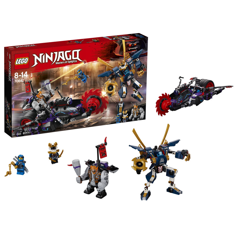 LEGO® NINJAGO - Killow vs Samurai X 70642