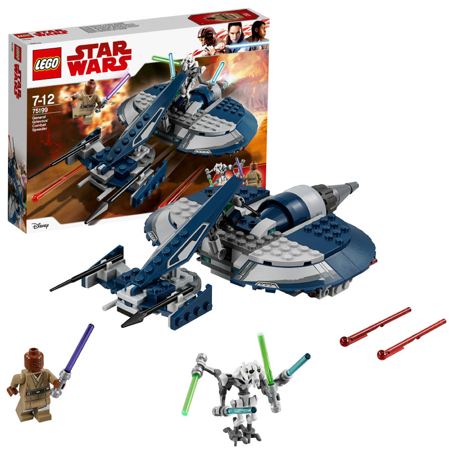 LEGO® Star Wars™ General Grievous Speeder de combate 75199