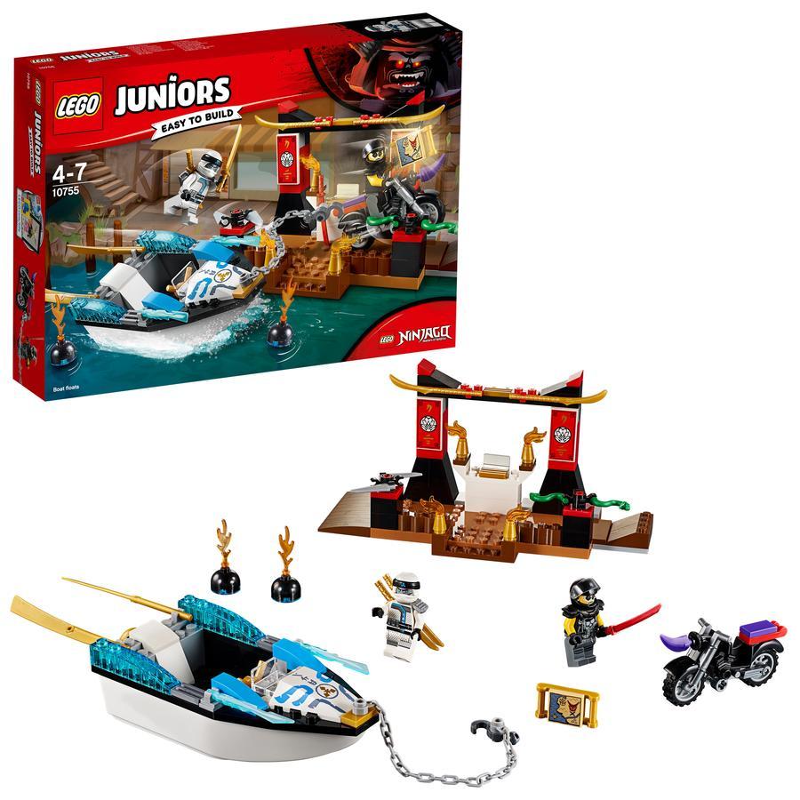 LEGO® Juniors - Zanes Verfolgungsjagd mit dem Ninjaboot 10755