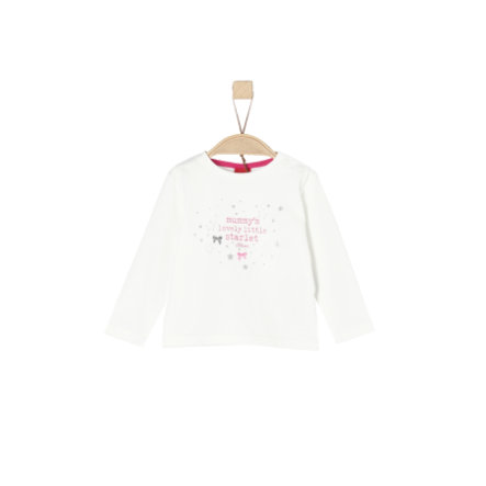 s.Oliver Girl s shirt met lange mouwen ecru