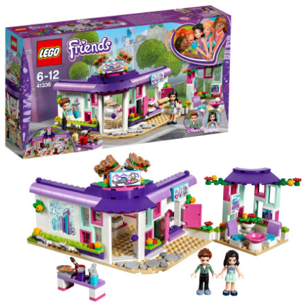 LEGO® Friends  Cafe artístico de Emma 41336