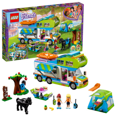 lego friends le camping car de mia 41339. Black Bedroom Furniture Sets. Home Design Ideas