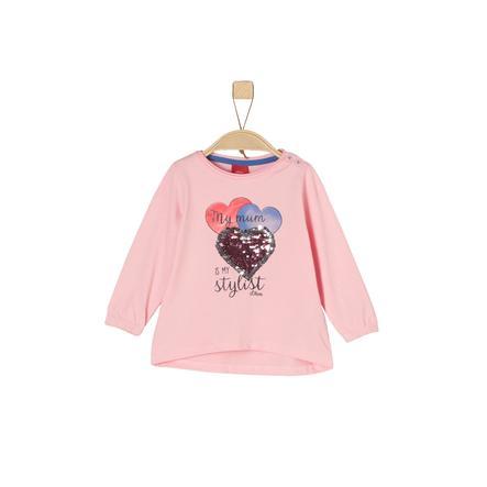 s.Oliver Långärmad tröja rosy  melange