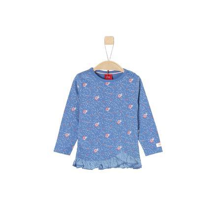 s.Oliver Girls Langarmshirt medium blue