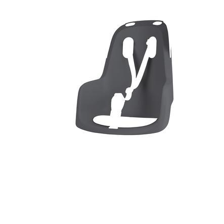Bobike barnesykkelsete GO® med 1P bøyle lys grå