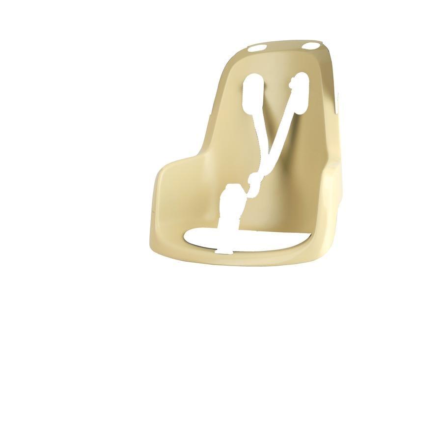bobike Fahrrad Kindersitz GO mit 1P - Bügel Lemon Sorbet