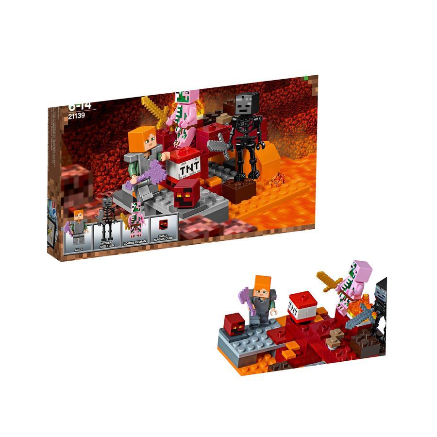 LEGO®  Minecraft™ - 21139 Podzemní souboj