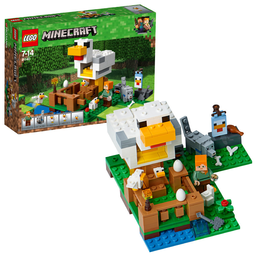 LEGO®  Minecraft™ - Il pollaio 21140