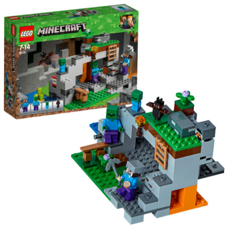 LEGO® Minecraft™ - La grotte du zombie 21141