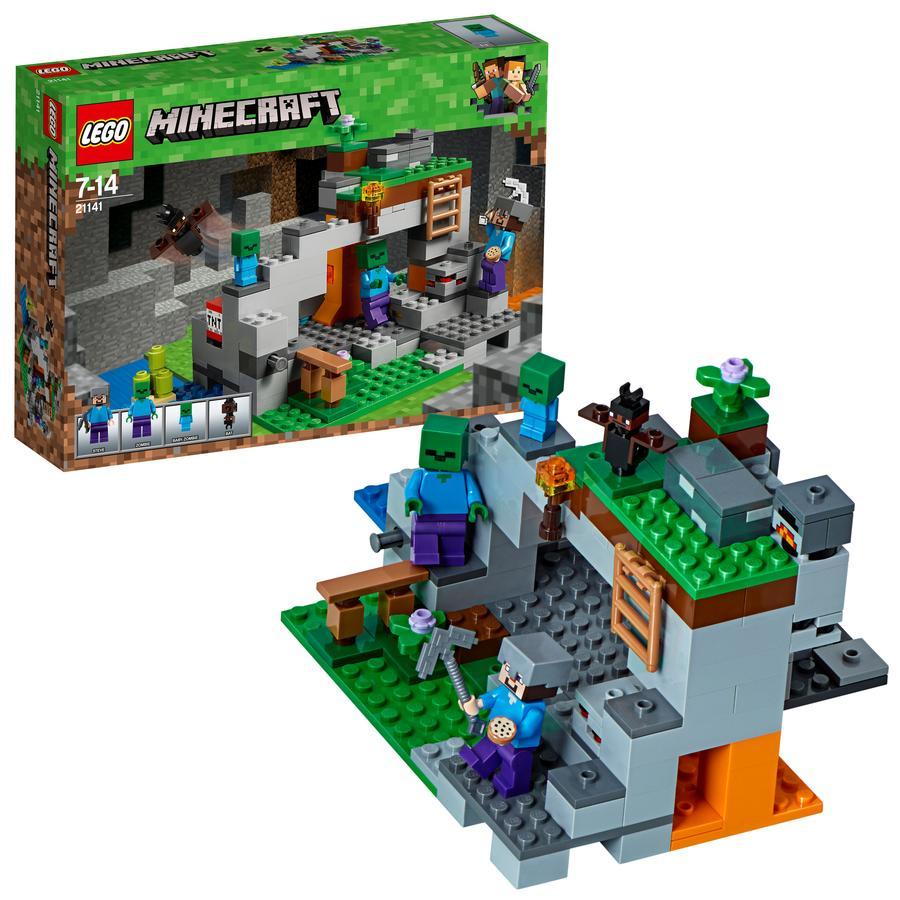 LEGO®  Minecraft™ - 21141 Jeskyně se zombie