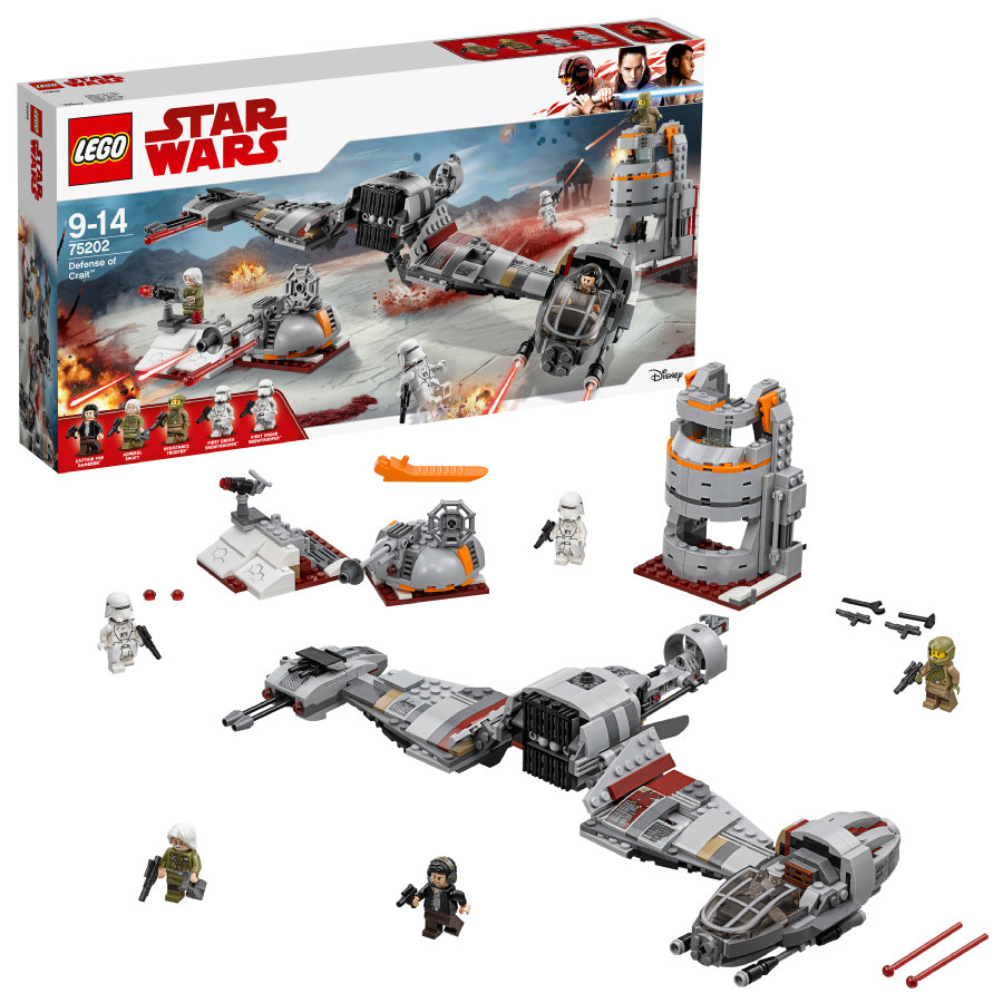 LEGO® Star Wars™ - Défense de Crait™ 75202