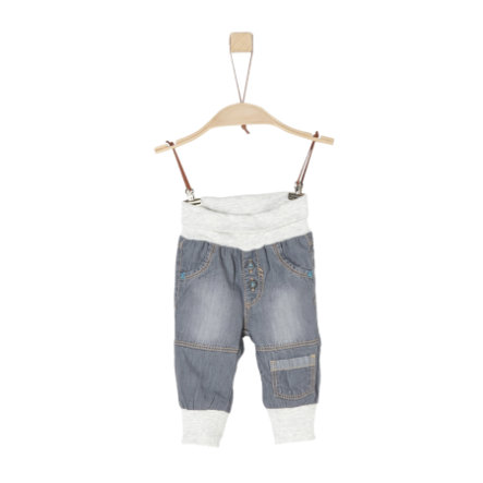 s.Oliver Boys Hose grey denim non stretch