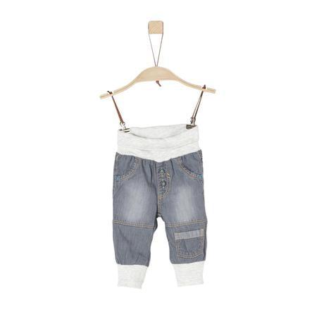 s.Oliver Boys Pantalon en denim gris non extensible