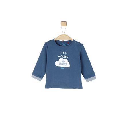 s.Oliver Boys Langarmshirt blue