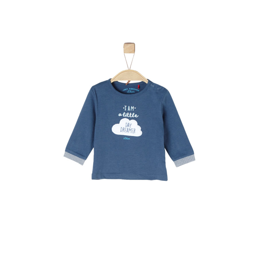 s.Oliver Boys Koszula z długim rękawem niebieska