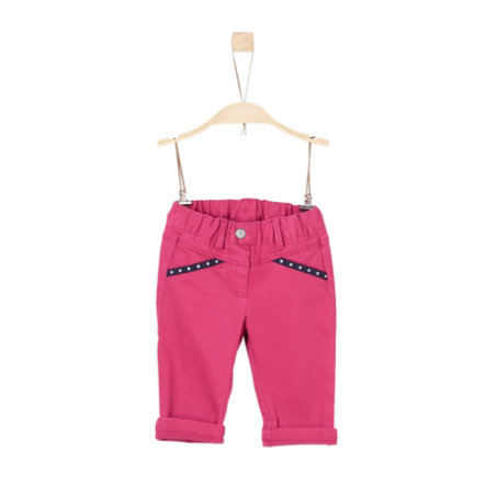 s.Oliver Girls Hose dark pink