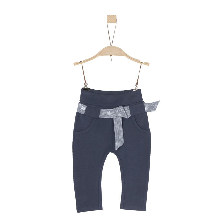 s.Oliver Girl Spodnie w kolorze ciemnoniebieskim.