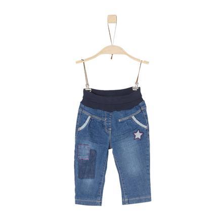 s.Oliver Girl pantaloni denim blu s blue denim
