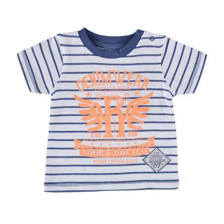 BLUE SEVEN Boys T-Shirt Ringel blauw