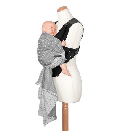 manduca Babytrage Bellybutton Duo WildCrosses grey