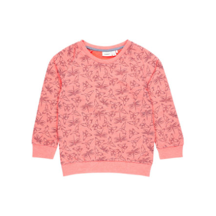 name it Girls Sweatshirt Nmfvalba sunkist coral