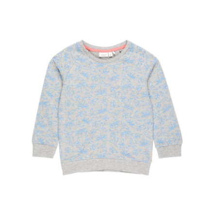 name it Girl s Sweatshirt Nmfvalba grey melange
