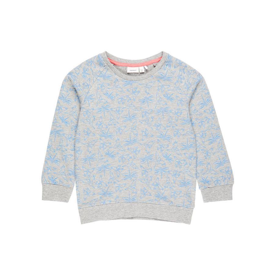 name it Girl s Sweatshirt Nmfvalba grijs gemêleerd Nmfvalba