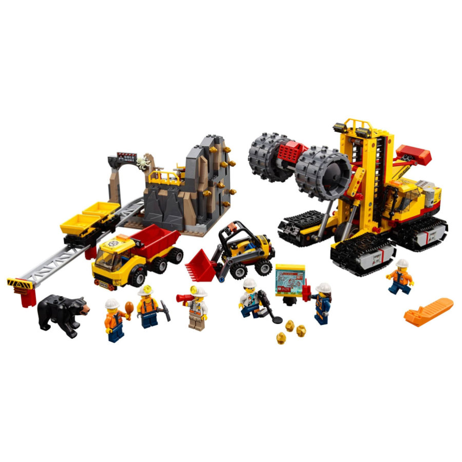 LEGO® City - Le site d'exploration minier 60188