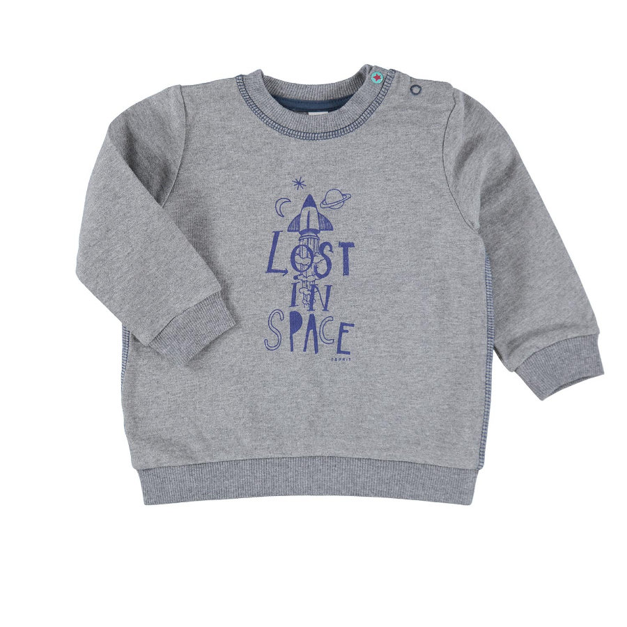 ESPRIT Boys Sweatshirt gun metal