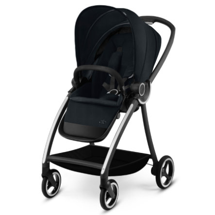 gb PLATINUM Kinderwagen Maris Satin Black-black