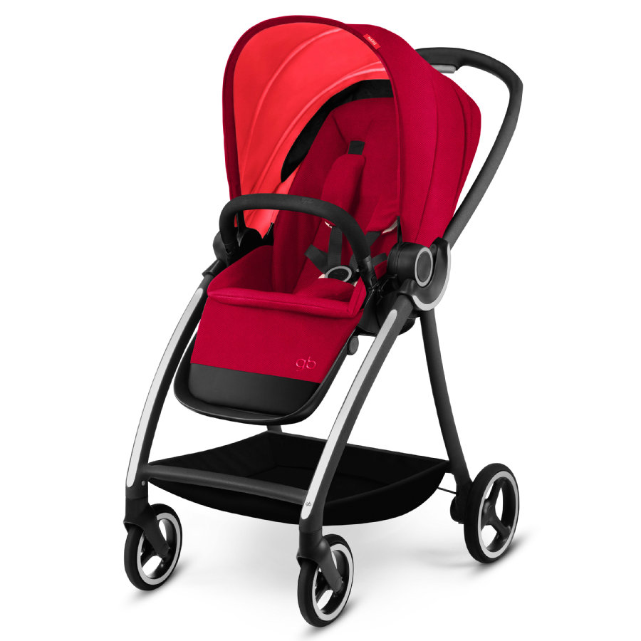 gb PLATINUM Kinderwagen Maris Cherry Red-red