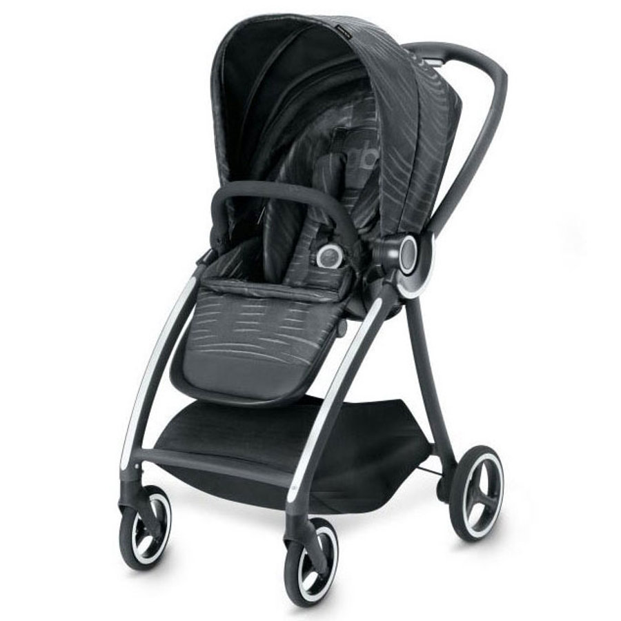 gb PLATINUM Kinderwagen Maris Plus Lux Black-black
