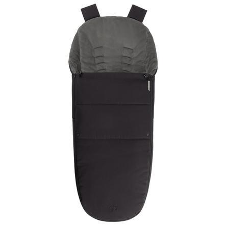 gb PLATINUM Fußsack für Maris Satin Black-black
