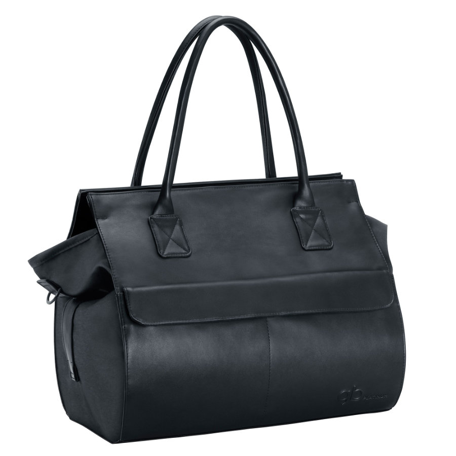 gb PLATINUM Wickeltasche Monument Black-black