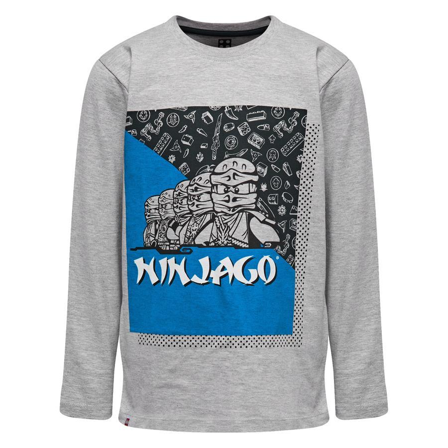 LEGO wear NINJAGO Langarmshirt Grey Melange