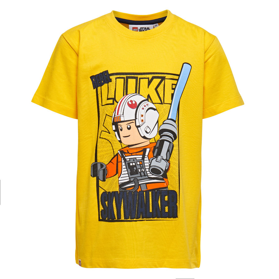LEGO wear T-shirt enfant Star Wars Luke Skywalker jaune