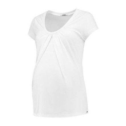 LOVE2WAIT Stillshirt Organic Tencel White